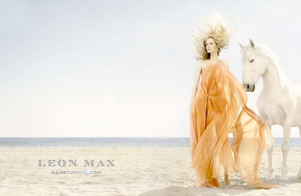 Max Studio's Spring '12 ads transport us to a sweet beach getaway. Source: Fashion Gone Rogue