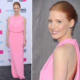 2012 Critics' Choice Awards: Jessica Chastain