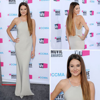 Pictures of Shailene Woodley on the Red Carpet at the 2012 Critics' Choice Awards