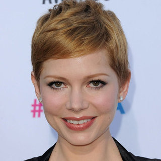 Michelle Williams' Hair and Makeup Look at the 2012 Critics' Choice Awards