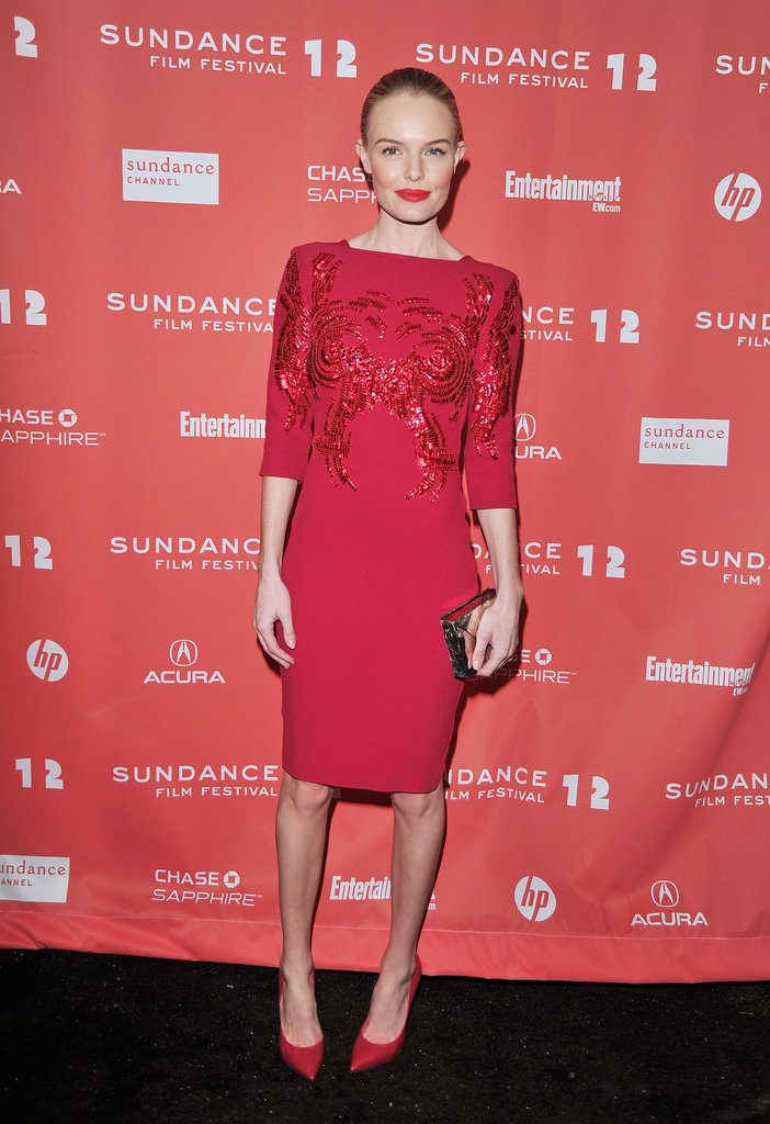 Kate Bosworth attended the Black Rock premiere in Park City.