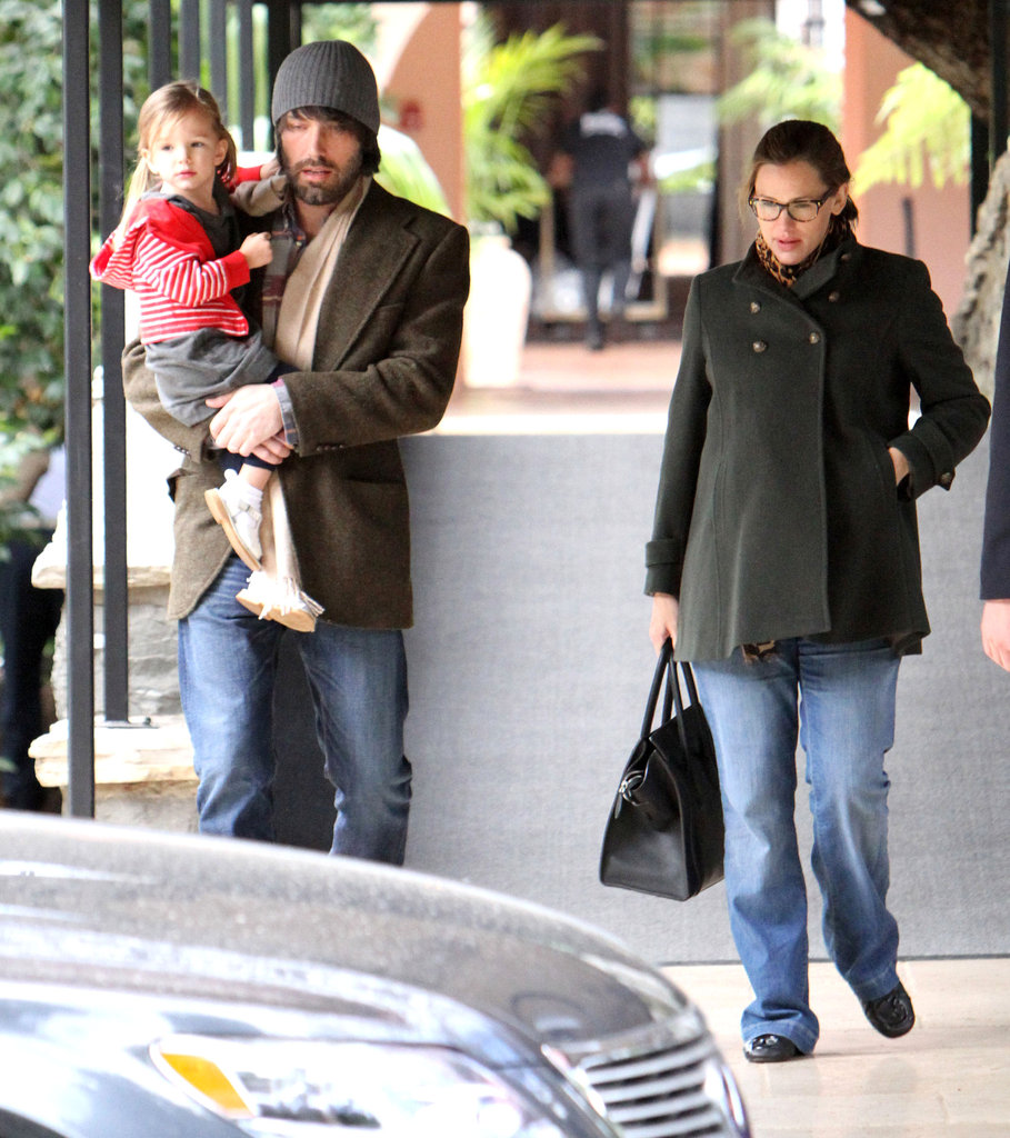 Ben, Seraphina, and Jen grabbed brunch in Brentwood.