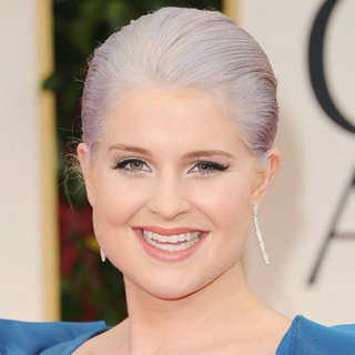 Kelly Osbourne's 2012 Golden Globes Hair and Makeup Look