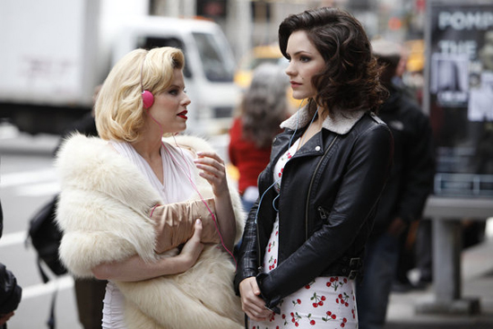 Megan Hilty and Katharine McPhee in Smash.