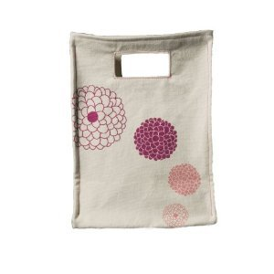 graze organic Organic Cloth Lunch Tote, Flowers