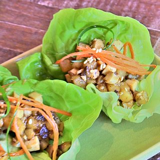 Dr. Weil's Tofu Lettuce Cups