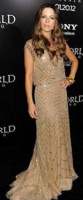 Designer of Kate Beckinsale's Dress at Underworld Premiere