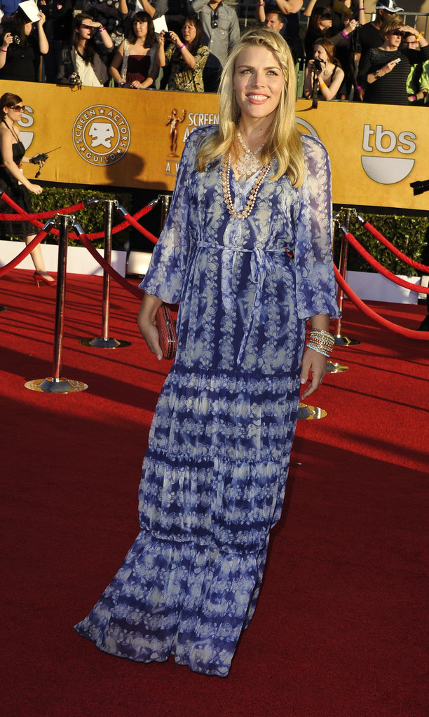 Busy Philipps posed at the 2012 SAG Awards.
