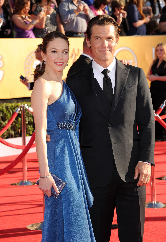Diane Lane and Josh Brolin at the SAG Awards