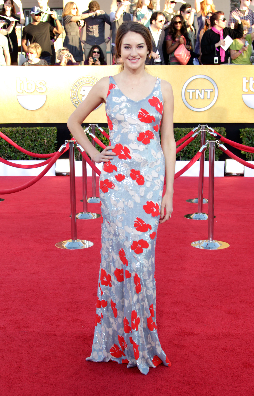 Shailene Woodley at the SAG Awards