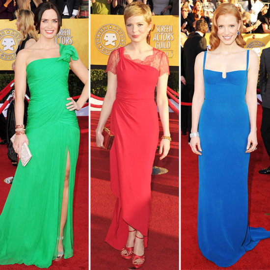 SAG Awards Trend Report: Prismatic Gowns