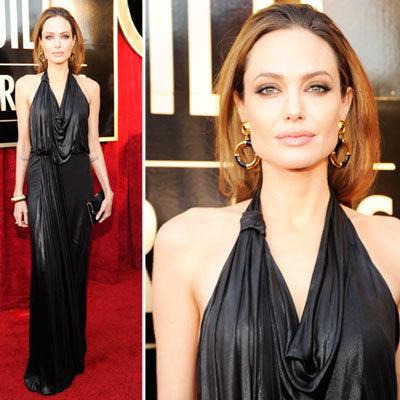 Angelina Jolie at the SAG Awards 2012