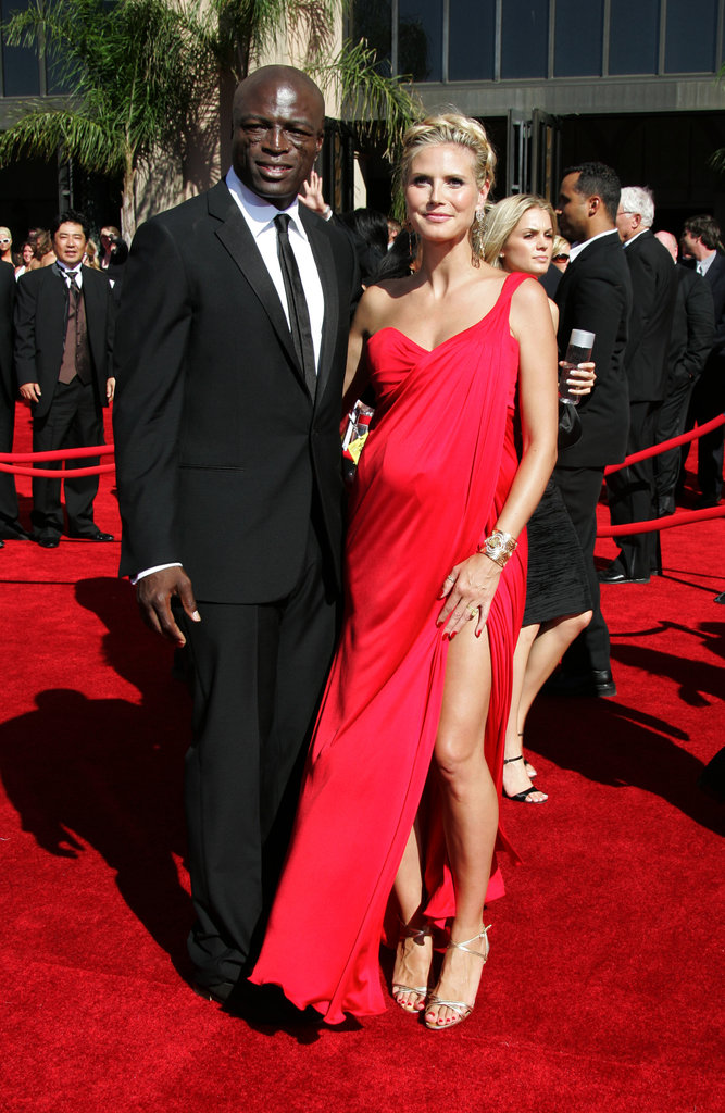 Heidi was red hot for the 2006 Emmys with Seal.