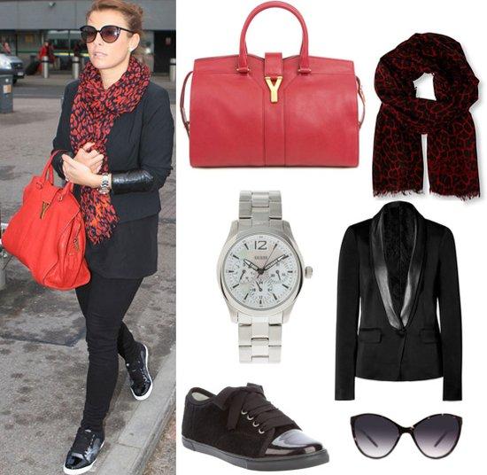 Coleen Rooney Style at Heathrow Airport   POPSUGAR Fashion UK