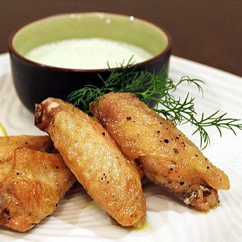 Greek Chicken Wings Recipe