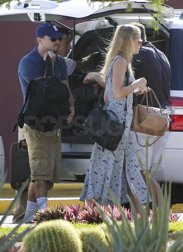 Leo and Erin arrived with tons of bags.