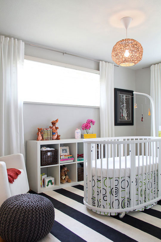Music-Inspired White Nursery