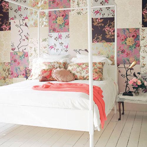 Feminine and Romantic Bedroom Decorating Ideas
