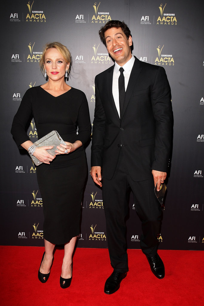 Susie Porter and Don Hany
