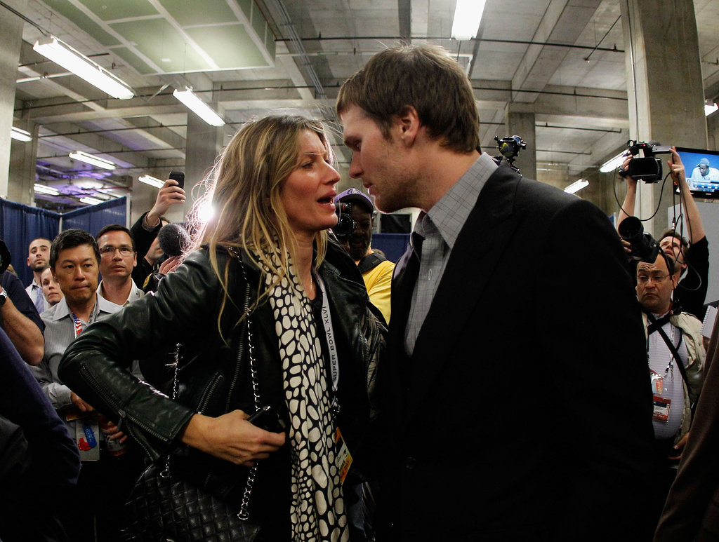 Gisele Bündchen Consoles Tom Brady Following Tough Super Bowl Loss