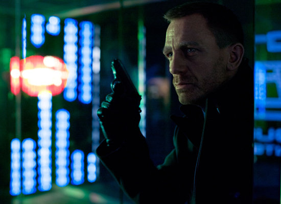 Skyfall Picture of Daniel Craig