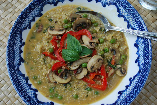 Green Curry and Quinoa