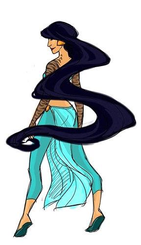 Superhero Jasmine