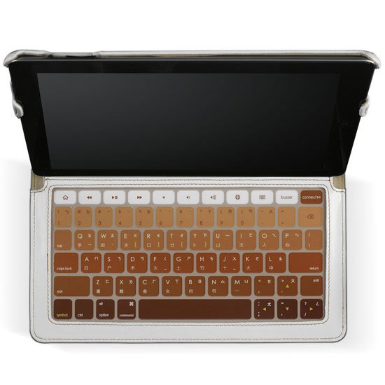 Skinny iPad 2 Case With Keyboard