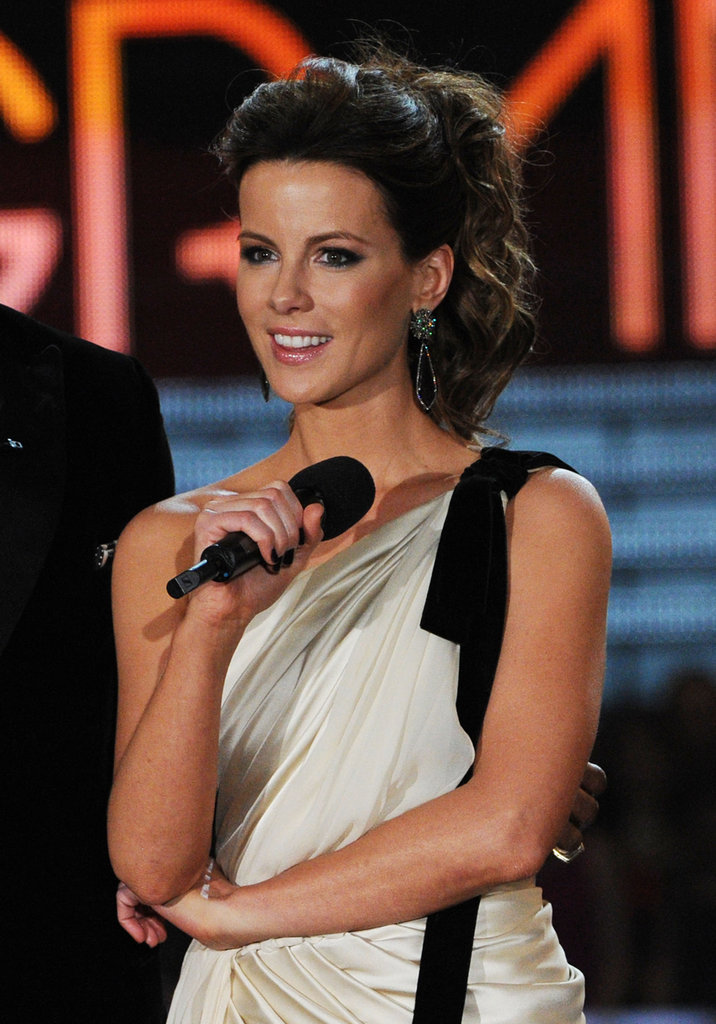 Kate Beckinsale took the stage as a presenter.