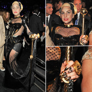 Lady Gaga at Grammy Awards 2012
