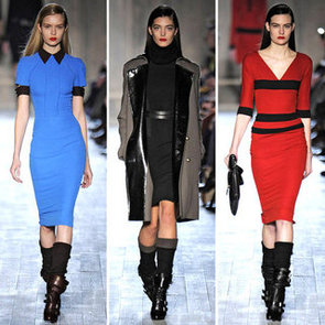 Review and Pictures of Victoria Beckham Collection 2012 Fall New York Fashion Week Runway Show