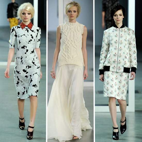 Review and Pictures of Derek Lam 2012 Fall New York Fashion Week Runway Show