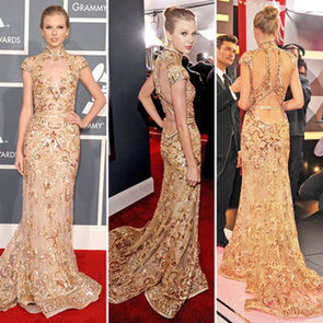 Taylor Swift at Grammys 2012