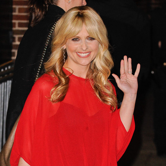 Sarah Michelle Gellar the Late Show Pictures 2012