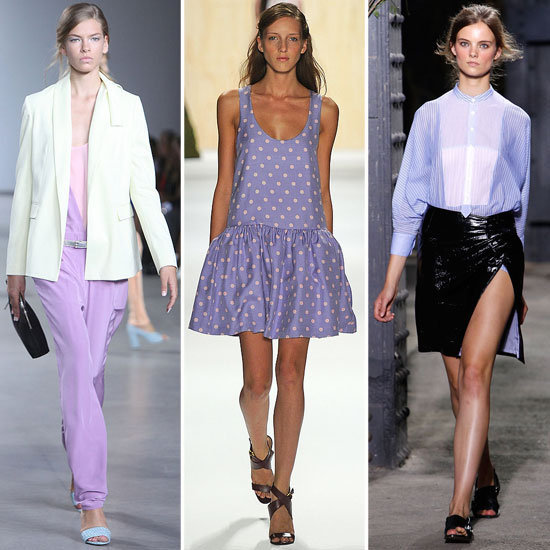 Purple Lilac Street Style Looks February 2012