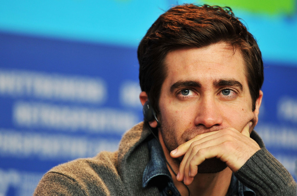 Jake Gyllenhaal struck a pose in Berlin.