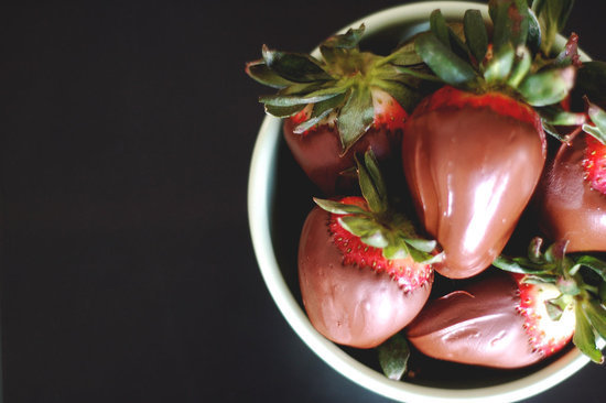 Seriously Indulgent: Chocolate-Covered Strawberries