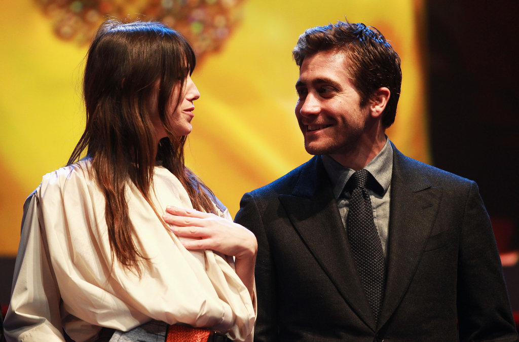 Jake Gyllenhaal chatted with his fellow jurors.
