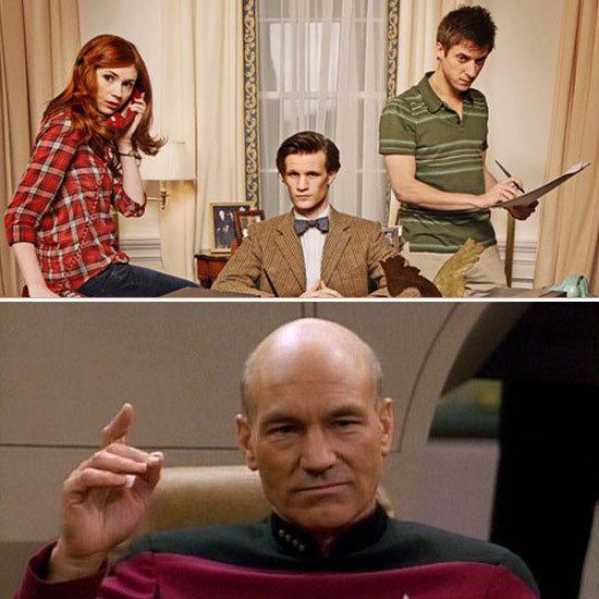 Doctor Who Star Trek: The Next Generation Comic Book