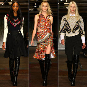 Runway Review and Pictures of Altuzarra Fall 2012 New York Fashion Week Runway Show