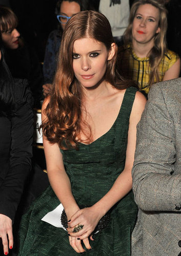 Kate Mara attended NYFW.