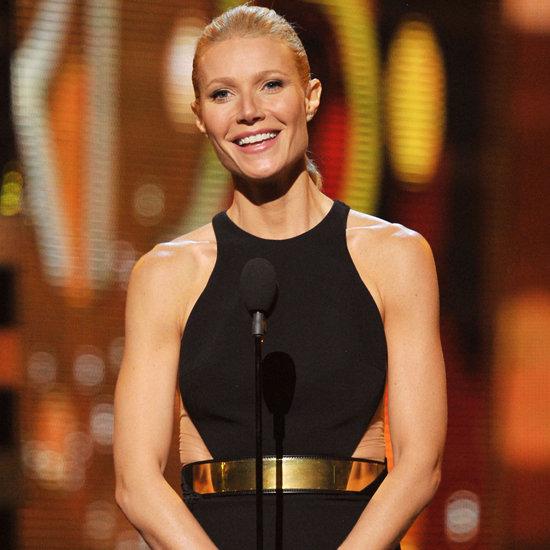 Gwyneth Paltrow Arm Workout For Grammy Awards 2012