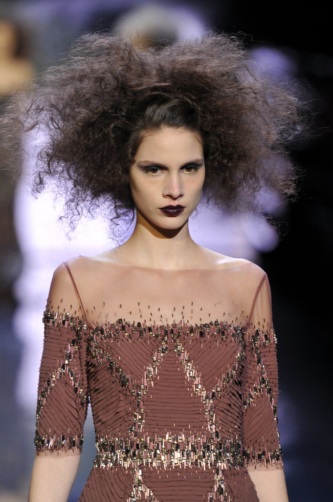 Frizzing Out on the Runway