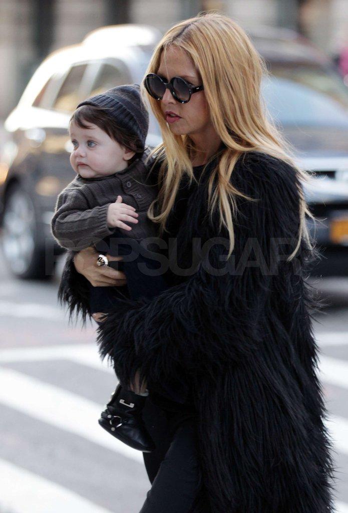 Rachel Zoe had Skyler Berman along for her Fashion Week trip.