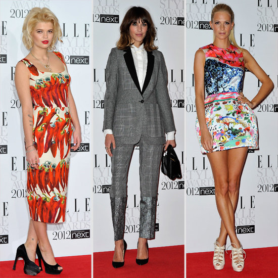 Pictures of Celebrities at the 2012 UK Elle Style Awards: Alexa Chung, Poppy Delevingne, Isabeli Fontana & more!