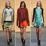 Review and Pictures of Proenza Schouler 2012 Fall New York Fashion Week Runway Show