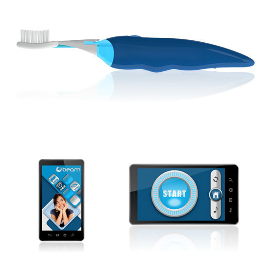 Bluetooth and iPhone App Toothbrush