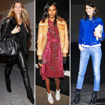 20 of the Best Off Duty Model Street Style Snaps from New York Fashion Week: Gisele Bundchen, Coco Rocha and more