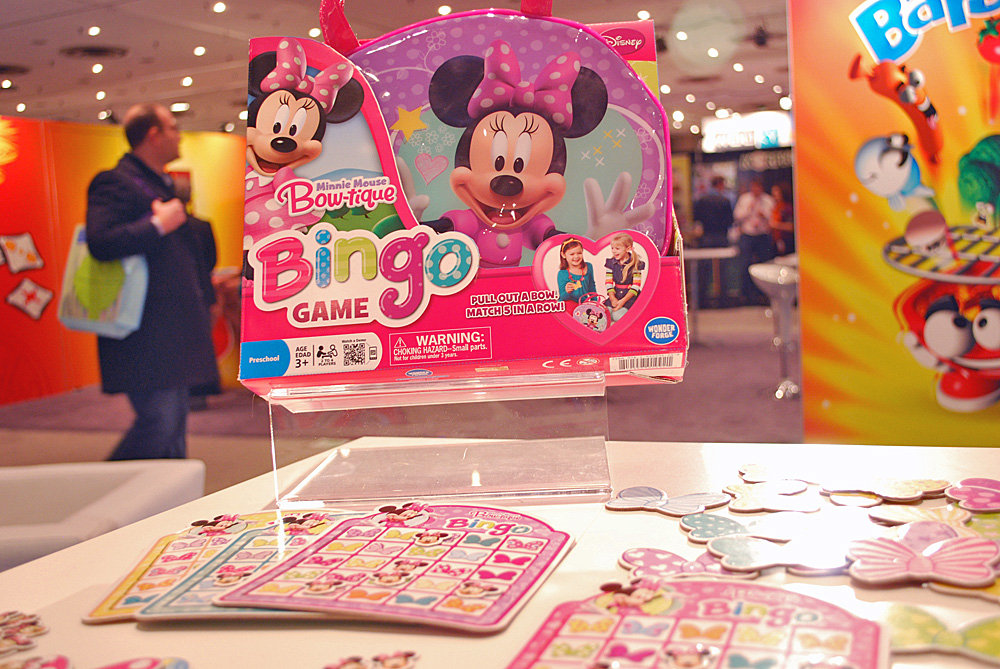 Minnie's Bowtastic Bingo Game