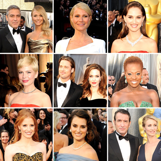 See All of the Star-Studded Arrivals at the 2012 Oscars!